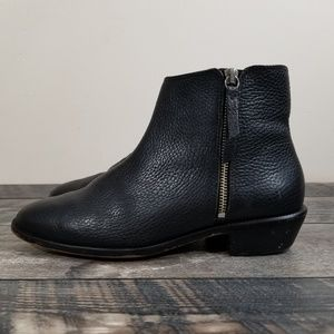 J. Crew Frankie Tumbled Womens 9.5 Ankle Boots